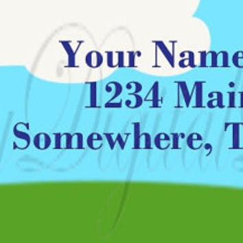 Printable Custom House Address Labels. Moving Announcement Return address Labels.  We have moved Address Labels. FREE SHIPPING!