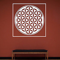 Egyptian Ring of Life Vinyl Wall Decal