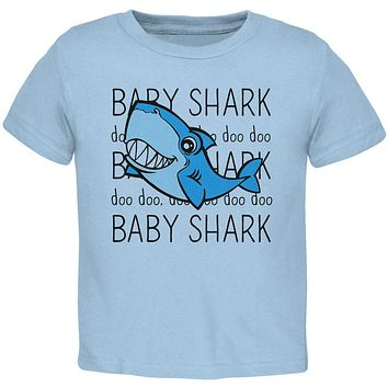 Baby Shark Cute Silly Toddler T Shirt