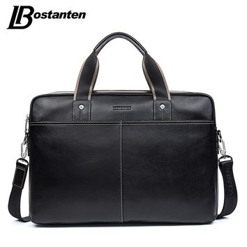Genuine Leather Bag Casual Men Handbags Cowhide Men Cross body Bag Men's Travel Bags Laptop Briefcase Bag for Man
