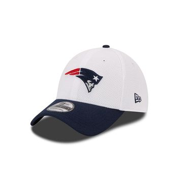 New Era New England Patriots Training Camp 39THIRTY Stretch-Fit Cap - Youth (White)