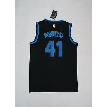 Dallas Mavericks #41 Dirk Nowitzki City Edition Basketball Jersey