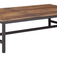 Elliot Coffee Table Distressed Natural