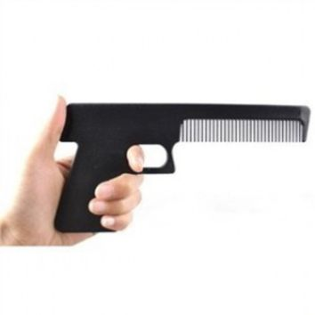 Handgun Shaped Comb