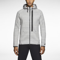Nike Tech Super 1MM Full-Zip Men's Hoodie - Dark Grey Heather