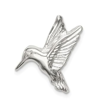925 Sterling Silver Hummingbird Charm and Pendant