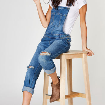 Memory Lane Denim Overalls