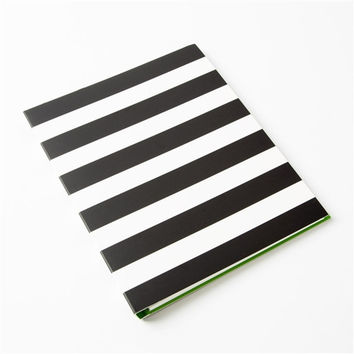 kate spade new york Spiral Notebook - Black Stripe