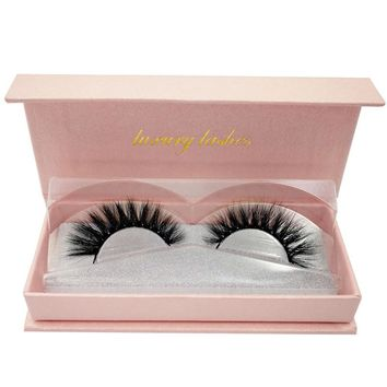 Natural Cross Long Real 3D Fur Eye Lashes