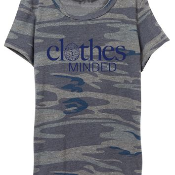 Womens Navy Camouflage