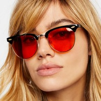Free People Backside Clubmaster Sunnies