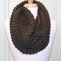Cowl Infinity Scarf {Olive}