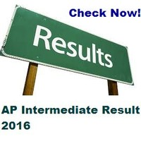 Live AP Intermediate Results 2016 at www.bieap.gov.in-All Streams