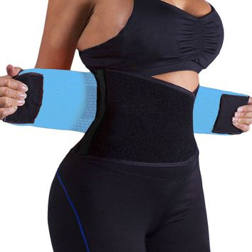 Power Belt And Waist Trainer Blue