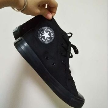 Converse All Star Sneakers canvas shoes for Unisex sports shoes High-tops Black