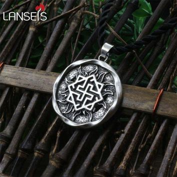 ac DCCKO2Q 1pcs Valkyrie Pendant Jewelry Pagan Amulet Slavic symbol warrior talisman pendant norse Occult  Pendant Germanic men necklace