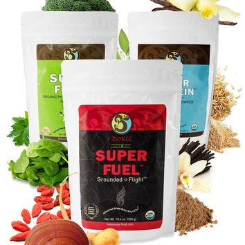 Superfood BōKU Complete Meal + Energy & Recovery Kit