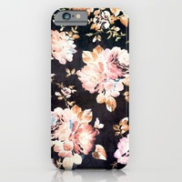 VINTAGE FLOWERS XXXIII - for iphone iPhone & iPod Case by Simone Morana Cyla