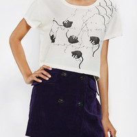 Urban Outfitters - Katie Gallagher X UO Cats Fitted Tee