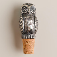 Owl Bottle Stopper - World Market