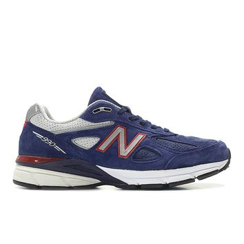 New Balance - 990v4 Made in the USA (M990BR4) - Red / White / Blue