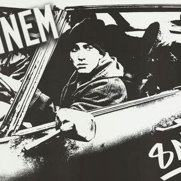 Eminem 8 Mile Car 2002 Movie Poster 22x34