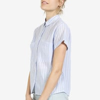 Prep Striped Button Up