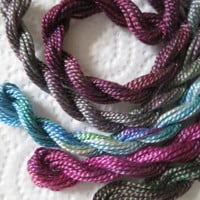 Perle Thread Collection, Burgundy, Deep Magenta, Only One Available
