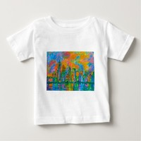 Coloring The Big Apple Baby T-Shirt