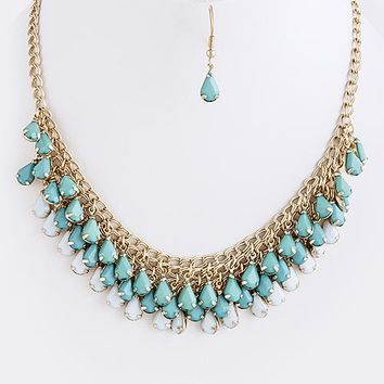 Abigail Teardrop Necklace