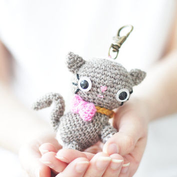 Amigurumi Cat Kitten PDF crochet pattern instant download cute kitty cat