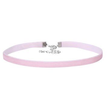 Cotton Candy Velvet Choker