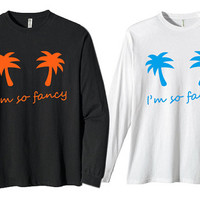 Iggy Azalea Coconut Trees for long sleeves heppy fit & sizing standart us
