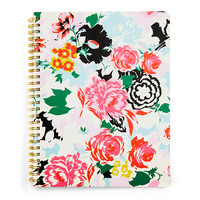 "Rough Draft Spiral Notebook - Florabunda or ""I Did My Best"""