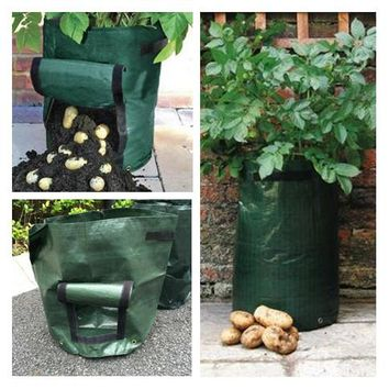 3 pieces Potato vegetable cultivationplanting bags PE bags Grow Bags Garden Pots & Planters garden supplies