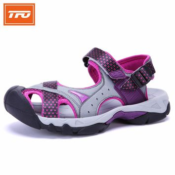 TFO Water Shoes Women Aqua Upstream Sandals Hard Wearing Light Camping Hiking Sport Shoes Men Sneakers homme 2017 Summer