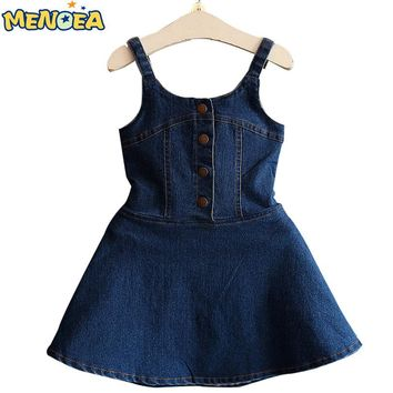 c3ae4f18 Menoea 2017 New Autumn Fashion Style Girls Dress Bull-puncher Dr.  Department Name Children Gender Girls Dresses ...