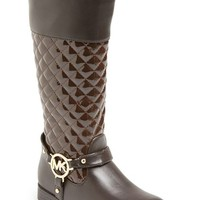 Girl's MICHAEL Michael Kors 'Emma' Quilted Boot
