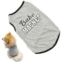 New Pet Puppy Summer Vest Small Dog Cat Dogs Clothing Cotton T Shirt Apparel Clothes Dog Shirt
