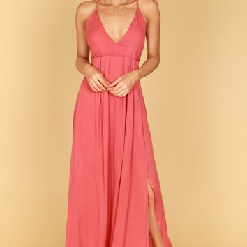 V-Neck Tank Maxi Indie Red