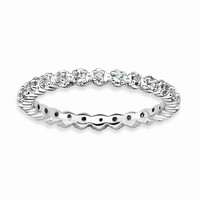 Sterling Silver Stackable Expressions Ring