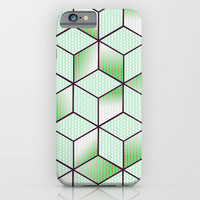 Electric Cubic Knited Effect Design iPhone & iPod Case by oursunnycdays