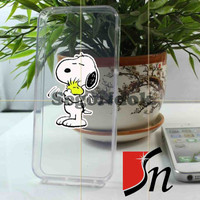 Snoopy Clear Design for iPhone 4/4s Case, iPhone 5 Case, Samsung Galaxy s3 i9300 and s4 i9500 case