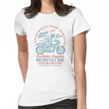 'CAFERACER MOTORCYCLES' T-Shirt by Super3