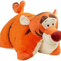 "Pillow Pets Authentic Disney 18"" Tigger, Folding Plush Pillow- Large"
