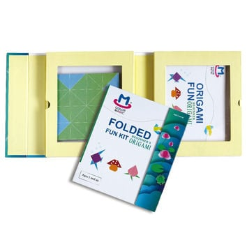 Origami Paper Fun Kit (70 Sheets)