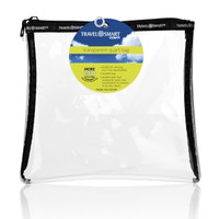 Travel Smart® Clear Sundry Bag (Black)