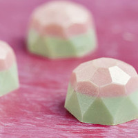 Box Of Watermelon Flavoured White Chocolate Gems