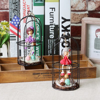 Creative Gifts Cage Resin Home Decoration Home Decor [6282378566]