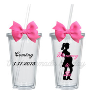 Mommy to be Insulated Tumbler